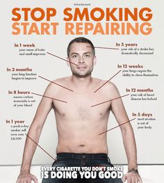 Stop Smoking, Start Repairing