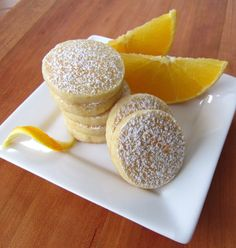 Recipe for Dreamsicle Meltaway Cookies