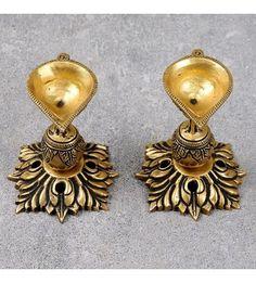 Brass Diya (Set of 2)