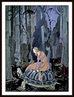 Old French Fairy Tales (1920) illustrated by Virginia Frances Sterrett,, Penn Publishing Company | Flickr - Photo Sharing!