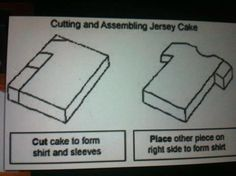 Football shirt cake template