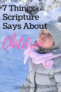 From beginning to end, God speaks about the value of children through his Word. These 7 important (and some surprising) things the Scriptures say about children will change the way you parent and bring back the health of the family & church!