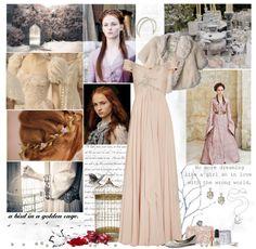 """Sansa Stark"" by cyanideteaparty ❤ liked on Polyvore"