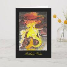Shona Mermaid Birthday Greeting Card