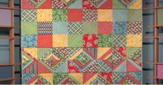 Check Out This Awesome Serge And Merge Quilt...Sergers Aren't Just For Decorative Edges!