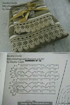 Crochet Patterns Lace Crochet Lace Edging for Handtowel ~~ sandragcoatti - Salvabrani Crochet Edging ~ bordura with chart Lace crochet edging with diagram 2 Guardas a Crochet t This Pin was discovered by Mic Crochet Pretty Handbag with Gr Crochet Edging Patterns, Crochet Lace Edging, Crochet Motifs, Crochet Borders, Crochet Chart, Crochet Trim, Diy Crochet, Crochet Designs, Crochet Doilies