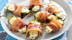 You have to try these smoky jalapeño poppers you can make them in the oven or on the grill. Description from pinterest.com. I searched for this on bing.com/images