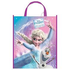 """Unique Large Plastic Disney Frozen Goodie Bag, 13"""" x 11"""", Party Favors - Amazon Canada"""