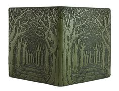 Leather  Composition Notebook  Cover   Avenue of Trees