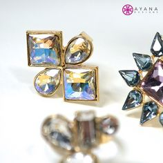 """We bring a whole new meaning to the """"bling ring."""" #bling #AyanaDesigns #mystyle #love #fashion"""