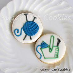 TOO TOO CUTE!  Sugar Dot Cookies