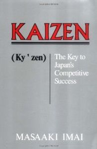 Kaizen by Masaaki Imai - A must read book by the crusading proponent of Kaizen