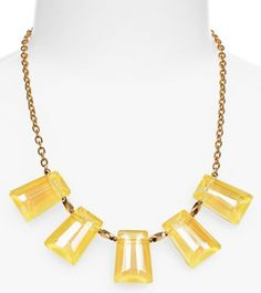 #yellow crystal necklace  http://rstyle.me/n/mnt6spdpe
