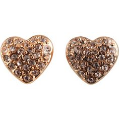 Marc by Marc Jacobs - Boxed Holiday Pave Heart Studs