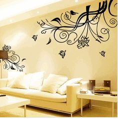 Wall stickers!