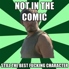 Anger Management Daryl Dixon - not in the comic still the best fucking character
