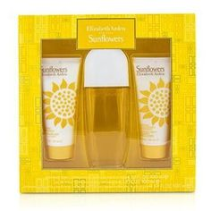Sunflowers Coffret: Eau De Toilette Spray 100ml-3.3oz + Body Lotion 100ml-3.3oz + Hydrating Cream Cleanser 100ml-3.3oz - 3pcs