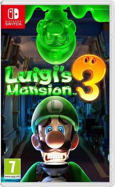 Luigi's Mansion 3 for Nintendo Switch - Nintendo Game Details Nintendo 3ds, Nintendo Console, Nintendo Switch System, Nintendo Switch Games, Super Nintendo, Nintendo Eshop, Mario Wii Games, Nintendo Switch Splatoon, Nintendo Switch Super Mario