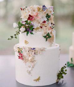 32 Winter Wedding Cakes for Serious Sugar Rush #weddingcake #winterweddings