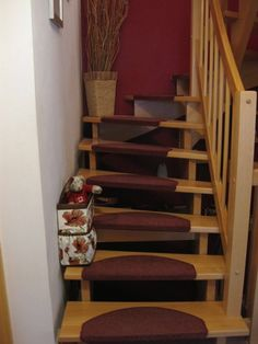 Stair Basket Gallery | cozy nest design Stair Basket, Nest Design, Stairs, Cozy, Gallery, Home Decor, Stairway, Decoration Home, Staircases