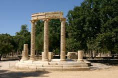 Philippeion, Ancient Olympia, Greece