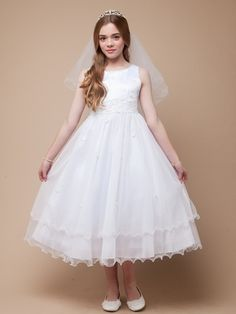 Catholic Baptism Dresses for Teenagers