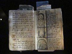 "Henry Jones Senior's grail diary, from ""Indiana Jones and the Last Crusade"""