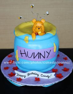 Winnie The Pooh cake by TheCakingGirl, via Flickr