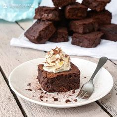 Ultimate Keto Chocolate Brownies (low-carb, keto, paleo)