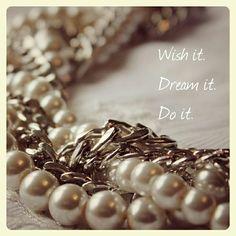 Wish it. Dream it. Do it. #juniiqjewelry #juniiq #dream #wish #justdoit #necklace