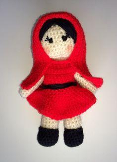 Caperucita Roja #amigurumi #crochet