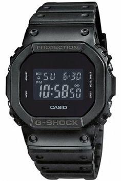 Amazon.com: Casio - Men's Watches - Casio G-Shock - Dw-5600Bb-1Er Monotone Matte Black Watch: Watches