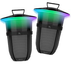 Win a Pair of Bluetooth LED Lantern Speakers Valued at $300!