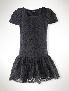 Lace Dress - Girls 7-16 Dresses & Rompers - RalphLauren.com