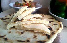 Pane veloce in padella senza glutine senza lievito  <3