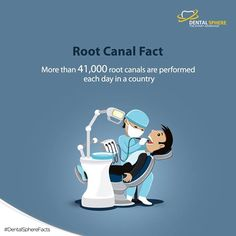 A fact you should be aware of Root Canal.   #DentalSphereFacts #rootcanaltreatment