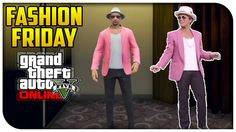 GTA 5 Online - FASHION FRIDAY! (Uptown Funk, Heavy Commando & John Wick) [GTA V]