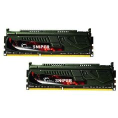 G.SKILL Sniper Series 16GB (2 x 8GB) 240-Pin DDR3 SDRAM DDR3 2400 (PC3 19200) Desktop Memory Model F3-2400C11D-16GSR. Intel XMP 1.3 support. Buffered/Registered. Tech Spec. Features. Capacity. 16gb (2 X 8gb). Please check gskill. com for motherboard compatibility chart. Voltage. G.Skill. Multi-channel Kit. 1.65v.Ecc. Series. Timing. Dual Channel Kit. 11-13-13-31. Model. Speed. Brand. Type. To reach rated memory speed, enabling Intel XMP profile or manual BIOS tuning is required.