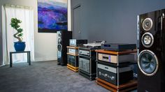 Audiophile room in France//
