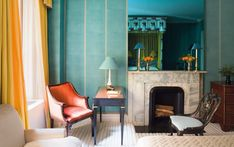 Caitlin Has A Secret Trend Spotting Hack And Here's What's Coming Up Next - BOLD ANTIQUE REVIVAL - Emily Henderson #designtrends #interiors #homedesign Architectural Digest, Chimney Breast, Upper East Side, Blue Mirrors, Entry Hall, Design Consultant, Color Inspiration, Interior Inspiration, Design Trends