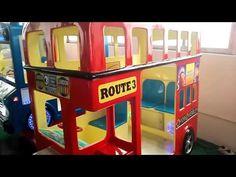 Kids Rides swing game machine –funny London bus