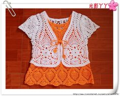 Very Cute - CHARTED - Crochet Patterns for Little Girls Dresses. Many Styles【转载】可爱童装备存款式续一 - 嫒从容的日志 - 网易博客