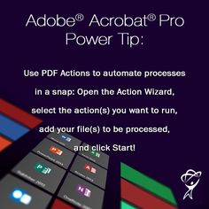 Become a software power-user with Total Training! #adobe #acrobat  #totaltraining #elearning #pdf #actions