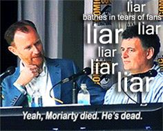 #stayingalive. Rule 1: The Moffat lies.
