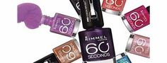 Rimmel 60 Seconds Nail Polish 873 Breakfast In Bed Rimmel 60 Seconds Nail Polish. Nail Colour. Rimmel 60 Seconds Nail Polish Available in various shades. 60 Seconds Quick dry nail polish, 1 second application 60 Seconds Nail polish: - XpressTM brush f http://www.comparestoreprices.co.uk/nail-products/rimmel-60-seconds-nail-polish-873-breakfast-in-bed.asp