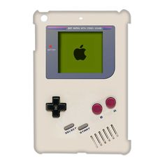 Vintage Retro White Gameboy Apple iPad Mini White Case $19.89 #gameboy #nintendo #retro #vintage #logo #ipad #ipadmini #ipadcase #ipadcover