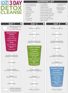 Mango Blueberry Green Smoothie Recipe & a Review of the Dr. Oz 3 Day Cleanse