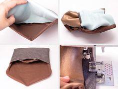 Tutoriel DIY: Coudre une pochette enveloppe via DaWanda.com