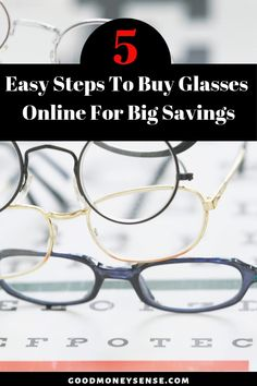 e1f34afa61 How To Save Hundreds By Buying Your Prescription Glasses Online