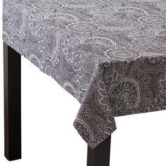 1300x1300 マウリカ テーブルクロス ブラック(W1300×D1300mm ブラック) Francfranc(フランフラン)公式サイト 家具、インテリア雑貨、通販
